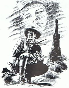 First Animation, Animation Film, Graphic Novel Art, Pyrography Patterns, Romantic Paintings, The Dark Tower, Western Comics, West Art, Pulp Magazine