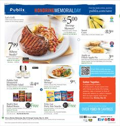 Publix Weekly Ad May 25 - 31, 2016 - http://www.olcatalog.com/grocery/publix-weekly-ad.html