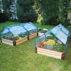 Raised Bed Greenhouse