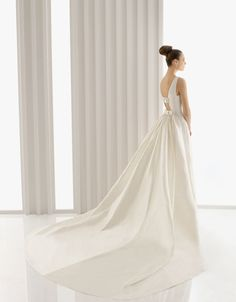Rosa Clara .. The train of the dress is so amazing