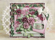 Designs by Marisa: Heartfelt Creations - Have a Wonderful Day Card