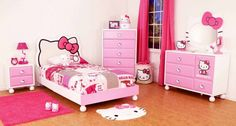 Small Room Ideas for Girls with Cute Color Bedroom Cool Design Little Girls Bedroom Ideas Hello Kitty Decor Small Bedroom Ideas For Very Small Bedrooms Bedroom Kid Room Designs Girls. Furniture In Small Bedroom. How To Decorate A Small Kids Bedroom. | offthewookie.com