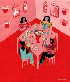 Interior Illustrations by María Luque