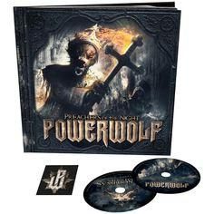 """L'album dei #Powerwolf """"Preachers Of The Night"""" su doppio CD con toppa inclusa."""