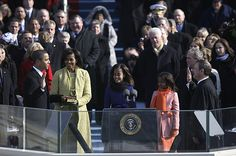 President Obama is sworn in on the Lincoln Bible