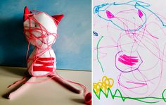 I USED TO BE SCARED OF CATS: Child's Own Studio #cat #toy