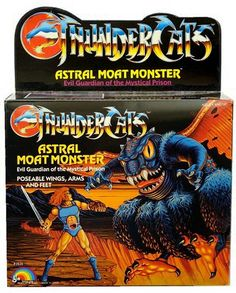 "The Astral Moat Monster, evil guardian of the mystical prison, from LJN's ""Thundercats"" line of action figures"