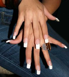 Aleida Nails Gallery - French Manicure - Always Elegant