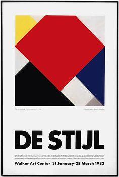 DE STIJL Theo van Doesburg, Arithmetische Compositie (1924).