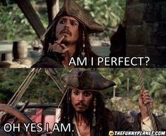 Just Captain Jack Sparrow