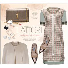 LATTORI.com by monmondefou on Polyvore featuring мода, Lattori, Prada, Yves Saint Laurent, Mikimoto, By Terry, Dolce&Gabbana, ANNA and lattori