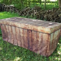 FITTED TABLE COVER - BARNWOOD – Stack Displays Vendor Displays, Craft Fair Displays, Market Displays, Display Ideas, Craft Show Table, Craft Fair Table, Farmers Market Display, Vendor Table, Tuscan Garden