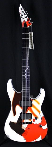ESP LTD Metallica Kill'em All White | Reverb
