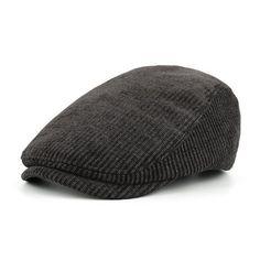 e9d9cd2701d Fashion Men s Winter Cotton Beret Hat - Navy