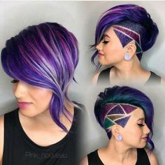 Great multi color Mohawk
