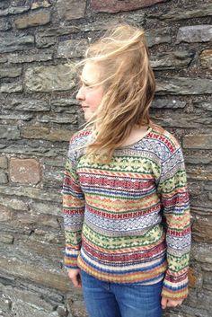 42ff504a9d Rackwick Fair Isle Curlneck Short Sweater £139.95
