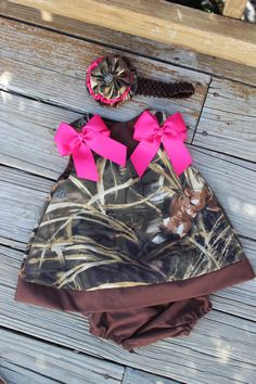 Max Hd Camo Dress with Ruffled Bloomers by KustomKidz on Etsy,