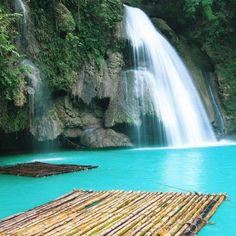 Cascatas de Kawasan, Filipinas #Travel #Filipinas #Philippines