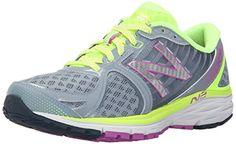 New Balance Women's W870V4 Running Shoe, Blue/White, 12 B US
