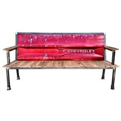 Recycled furniture - Diseño industrial - Banca - creative bench