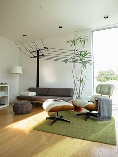 Wohnung einrichten Tipps Wohnzimmer Relax Möbel kreative Wanddeko