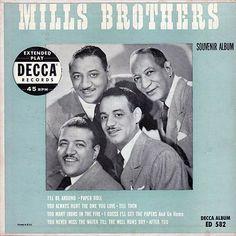 45cat - Mills Brothers - Mills Brothers Souvenir Album - Decca - USA
