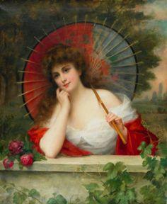 Fernand Toussaint, (1873-1956) Belgian Post-Impressionist painter