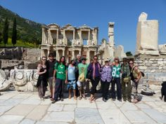 #Ephesus in #Turkey is the second largest and one of the best preserved Roman ruins in the world. We spent the day exploring the ruins, the Artemis Temple and St Johns Basilica
