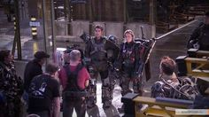 Edge of Tomorrow: On Set Edge Of Tomorrow, On Set, Role Models, Behind The Scenes, Movies, Films, Studios, 3d, Templates