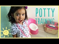 ▶ ELLE | POTTY TRAINING Break Thru Moment! - YouTube (I love how she clapped when her daughter felt all embarrassed that she had peed on the floor just to make her smile again)