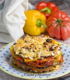 Mil capas de verduras, queso y frutos secos, receta paso a paso | Cocina y Aficiones