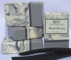 Black Licorice Handmade Artisan Soap by sagegold on Etsy, $4.75
