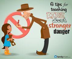 6 tips for teaching kids about stranger danger
