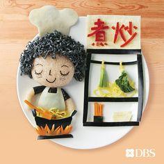 Samantha Lee food art for kids Food Art For Kids, Food Kids, Japanese Food Art, Creative Food Art, Cute Bento, Food Artists, Food Decoration, Fruit Art, Food Humor