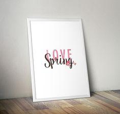 Studio del #logo per evento Love Spring della nostra divisione thinkLuxury!  By Think Design - Let's communicate