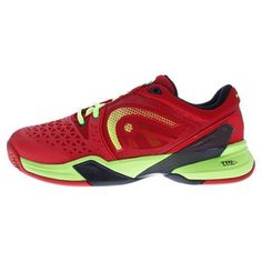 The new HEAD Men's Revolt Pro Tennis Shoes are ideal for players seeking a lightweight shoe with exceptional cushioning and support. Find your shoe today >> http://www.tennisexpress.com/head-mens-revolt-pro-tennis-shoes-red-and-raven-41477 #TennisExpress
