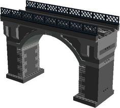 Stone Railway Bridge: A LEGO® creation by Murdoch 17 : MOCpages.com