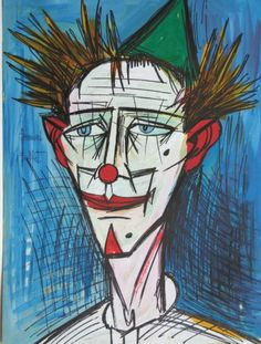 Bernard Buffet - Clown - 19xx