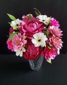 12 Best Flores Cricut Images Paper Flowers Cricut Flower Crafts