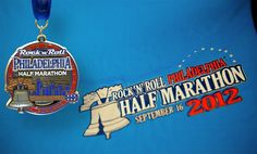 Rock 'n' Roll Philadelphia finisher medal and tee...who's running with us??