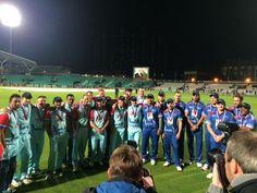 Team shots at #cricketforheroes
