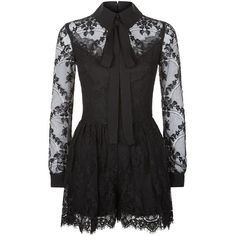 Elie Saab Lace Playsuit ($4,620) ❤ liked on Polyvore featuring jumpsuits, rompers, lace romper, red rompers, floral rompers, lace rompers and flower print romper