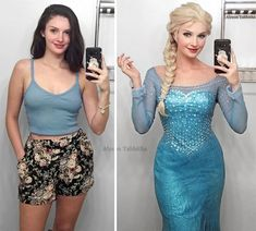 Elsa aus Frozen Cosplay von Alyson Tabbitha - Famous Last Words Frozen Cosplay, Elsa Cosplay, Anime Cosplay, Frozen Costume, Disney Cosplay, Legolas, Fancy Dress, Dress Up, Bodycon Dress