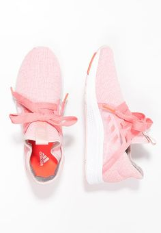 EDGE LUX - Neutral running shoes - vapour pink/ray pink/solar red