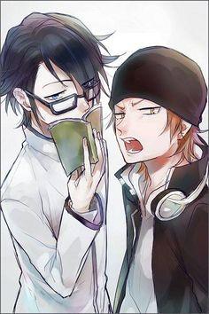 Fushimi and Misaki | K project♛