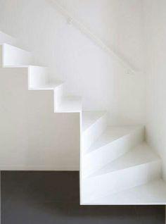 Kantlaminaat trap lichtgrijs eiken 2 stuks | Praxis | Trap | Pinterest