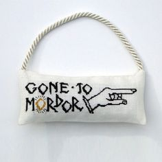TwoSided Lord of the Rings Gone to Mordor Door Hanger by AdLeones, $6.50