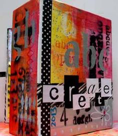 Scrapbooking.com -- Article - Jodi Ohl's Journal Locker  Check out this tutorial I did creating a 'locker' for mini journals!
