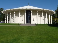 A favorite building in Pasadena. Interior Architecture, Interior And Exterior, Architectural Features, Auditorium, Gazebo, Tech, Outdoor Structures, Tours, Mansions