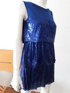 Vintage woman italian designer Patrizia Pepe party dress small